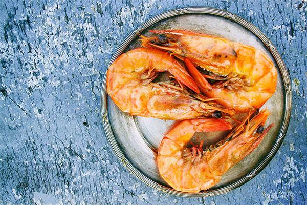 seafood on plate